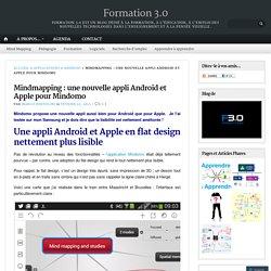 Mindmapping : une nouvelle appli Android et Apple pour Mindomo
