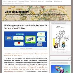 le Service Public Régional de l'Orientation (SPRO) présenté en cartes (mindmapping)