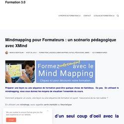 Mindmapping pour Formateurs : un scénario pédagogique avec XMind – Formation 3.0
