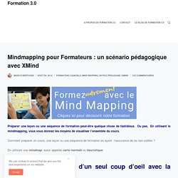 Mindmapping pour Formateurs : un scénario pédagogique avec XMind