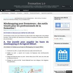 Mindmapping pour Formateurs : des outils visuels pour les professionnels de la formation !