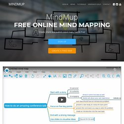 Zero-Friction Free Online Mind Mapping Software - Mind Map in the cloud
