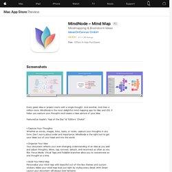 MindNode – Mind Map on the MacAppStore