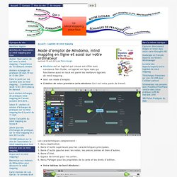 Mode d'emploi de Mindomo , mind mapping en ligne et aussi sur votre ordinateur