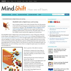 MindShift's Guide to Game-Based Learning