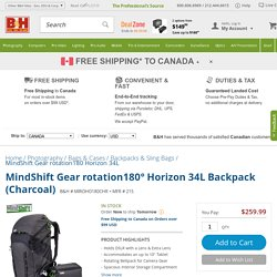 MindShift Gear rotation180&deg Horizon 34L Backpack 215 B&H