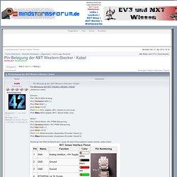 Lego Mindstorms EV3, NXT und RCX Forum - Thema anzeigen - Pin-Belegung der NXT Western-Stecker / Kabel