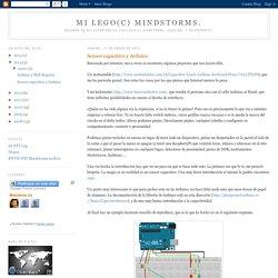 Mi Lego(C) Mindstorms.: Sensor capacitivo y Arduino