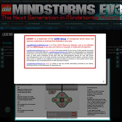 LEGO Mindstorms EV3 Programmable Brick