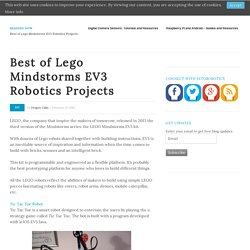 Best of Lego Mindstorms EV3 Robotics Projects