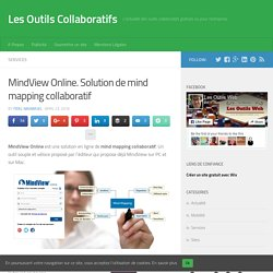 MindView Online. Solution de mind mapping collaboratif
