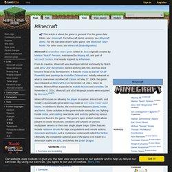 Minecraft Wiki.en
