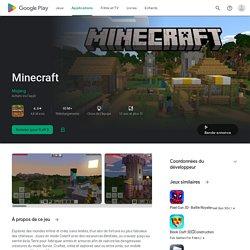 Minecraft – Applications sur GooglePlay