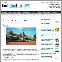 Minecraft in the Classroom and Library