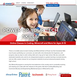Coding, Minecraft and Digital Art for Kids