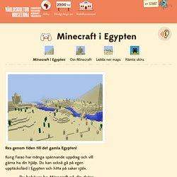 Minecraft i Egypten — Barn