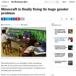Minecraft is finally fixing its huge gender problem