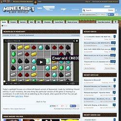 Index page - Minecraft Forums