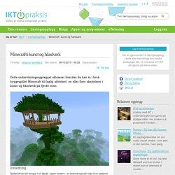 Minecraft i kunst og håndverk