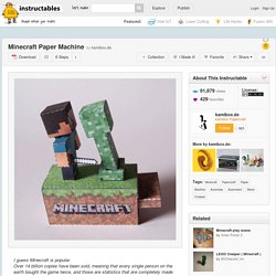 Minecraft Paper Machine
