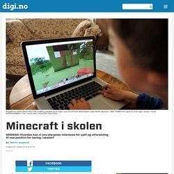 Minecraft i skolen