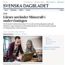 Lärare använder Minecraft i undervisningen