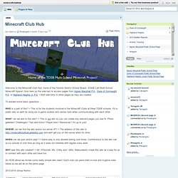 minecraftclubhub [licensed for non-commercial use only] / Minecraft Club Hub