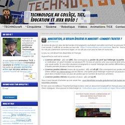 MinecraftEDU, la version éducative de Minecraft : comment l'acheter ? » Technologie collège, TICE, jeux vidéo et éducation