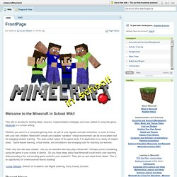 minecraftinschool