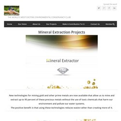 Mineral Extraction Projects