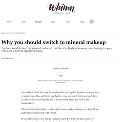 Nude by Nature: Mineral makeup ingredients, benefits