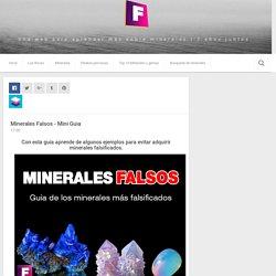 Minerales Falsos - Mini Guia