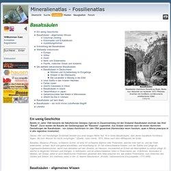 Mineralienatlas Lexikon - Geologisches Portrait/Basaltsäulen