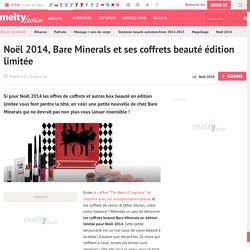 Noël 2014, Bare Minerals et ses coffrets beauté édition limitée