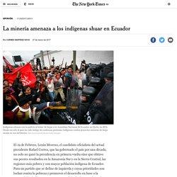 La minería amenaza a los indígenas shuar en Ecuador – Español