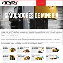 MINERÍA – APEX Simuladores de Manejo