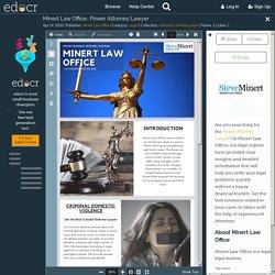 Minert Law Office- Power Attorney Lawyer