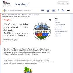 MineStory : une frise immersive d'Histoire des Arts