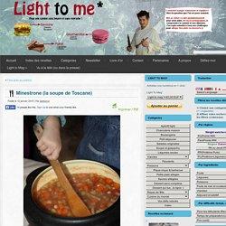 Minestrone (la soupe de Toscane)
