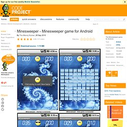 Minesweeper - Minesweeper game for Android