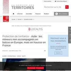 Asile : les mineurs non accompagnés en baisse en Europe, mais en hausse en France