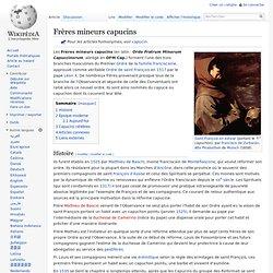 Frères mineurs capucins 1517-