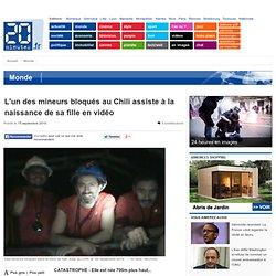 L'un des mineurs bloqués au Chili assiste à la naissance de sa fille en vidéo