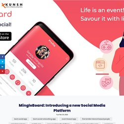 MIngle with MIngleBoard and find people with the same interests as you
