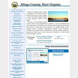 Mingo County WV website