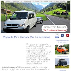 Mini Camper Van Conversions