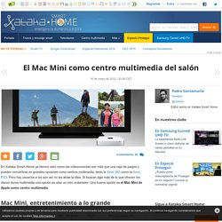 El Mac Mini como centro multimedia del salón