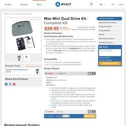 Mac Mini Dual Drive Kit (922-9560, 076-1391)