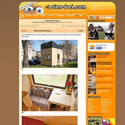 Mini-Haus für Singles » Bilder auf Sinn-Frei.com