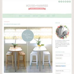 DIY: Mini kitchen make-over ‹ House of Hawkes